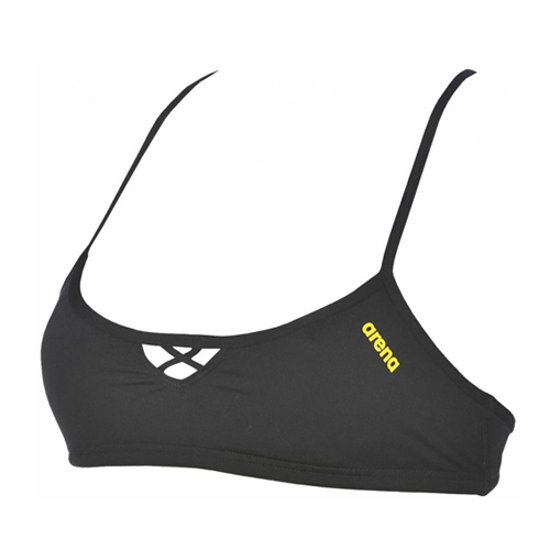 Arena Bandeau Be Women's Black/Yellow