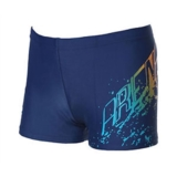Arena Boys Arcoiris JR Short Youth Navy/Turquoise