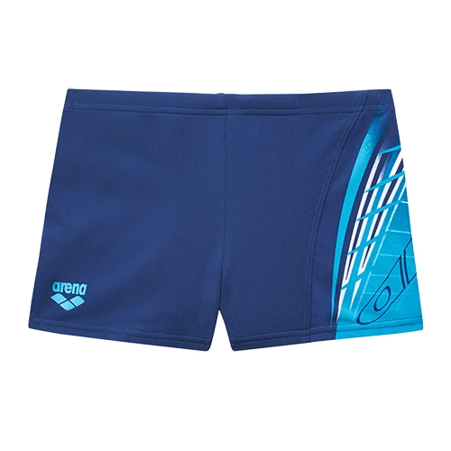 Arena Boys Aventura JR Short Youth Navy/Turquoise
