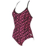 Arena Carbonics One Piece Women's Black/Fresia rose