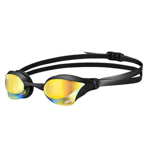 Arena Cobra Core Mirror Unisex Yellow Revo/Black/Black