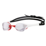 Arena Cobra Ultra Mirror Unisex Red Revo/White/Black
