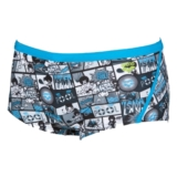 Arena Comics Low Waist Short Men's Turquoise/Black
