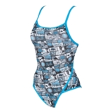 Arena Comics Super Fly Back Women's Turquoise/Black