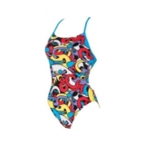 Arena Cores Booster Back Women's Red/Turquoise/Multi
