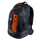 Arena FastPack 2.0 Pool Bag Unisex Black/Fluo Orange
