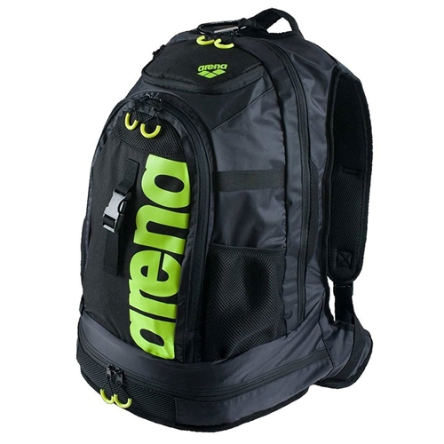 Arena FastPack 2.0 Pool Bag Unisex Black/Acid Lime