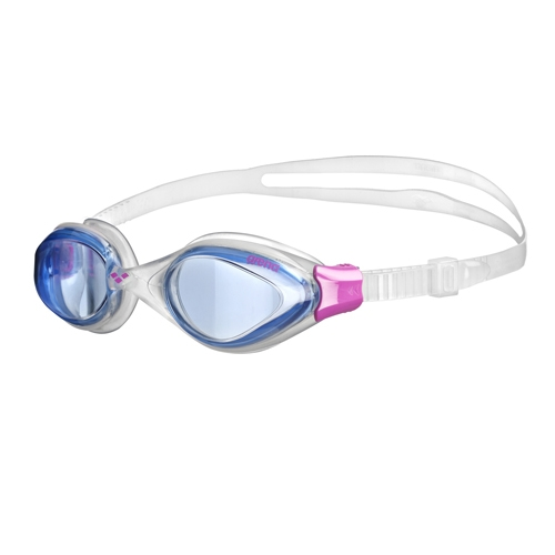 Arena Fluid Goggles Women's Blue/Clear/Fushia