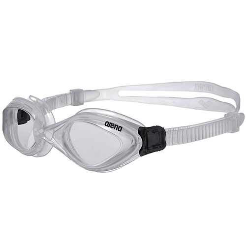 Arena Fluid Goggles Unisex Clear/Clear/Silver