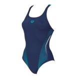 Arena Fluids One Piece B Women's Navy/Persian Green