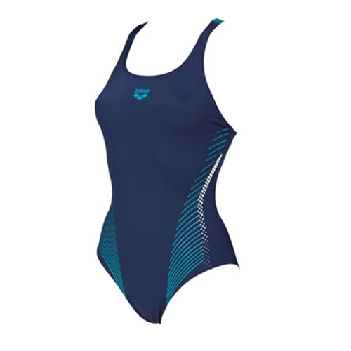 Arena Fluids One Piece B Women's Navy/Persian Green - Arena Style # 001194.706 F18