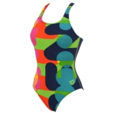 Arena Following One Piece Women's Navy/Energy Green