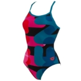 Arena Following One Piece Women's Black/Curacao