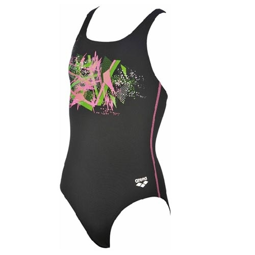 Arena G Festoon JR One Piece Kids Black/Paparazzi