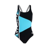Arena Margas Swimsuit Women's Black/Martinica/White