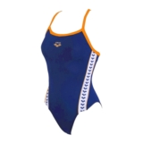 Arena Meteor Swimsuit Women's Royal/Nectarine/White