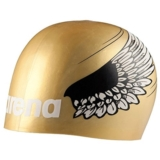 Arena Poolish Moulded Cap Unisex Gold Wings