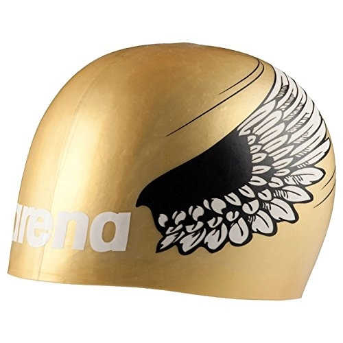 b05a058e7924 Arena Poolish Moulded Cap Unisex Gold Wings - Running Free Canada