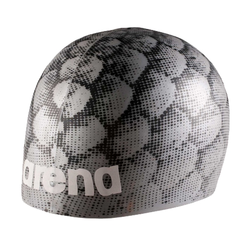Arena Poolish Moulded Cap Unisex Silverfish - Arena Style # 1E774-525U C18