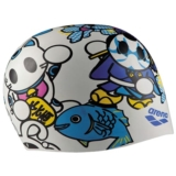 Arena Poolish Moulded Cap Unisex White Fish