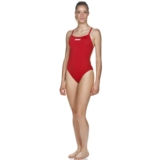 Arena Solid Lightech High Women Red/White