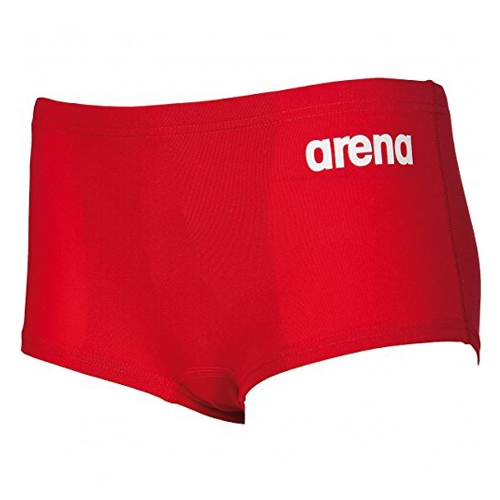 Arena Solid Short Jr Kids Red/White
