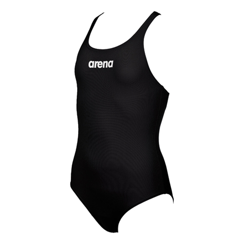 Arena Solid Swim Pro Jr Kid's Black/White