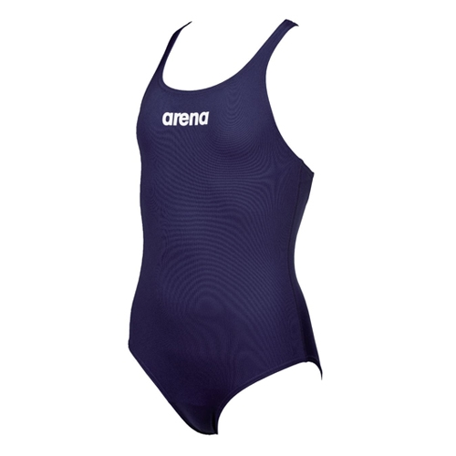 Arena Solid Swim Pro Jr Kid's Navy/White