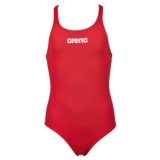 Arena Solid Swim Pro Jr Kid's Red/White