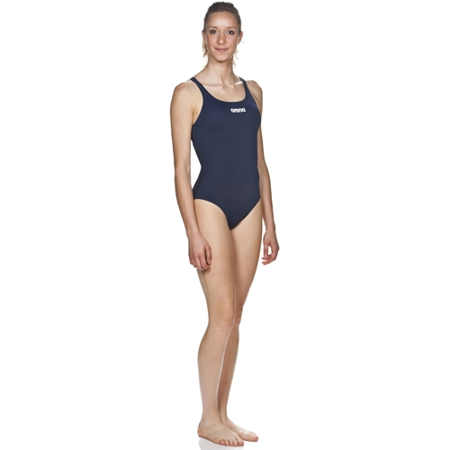 Arena Solid Swim Pro L Women's Navy/White