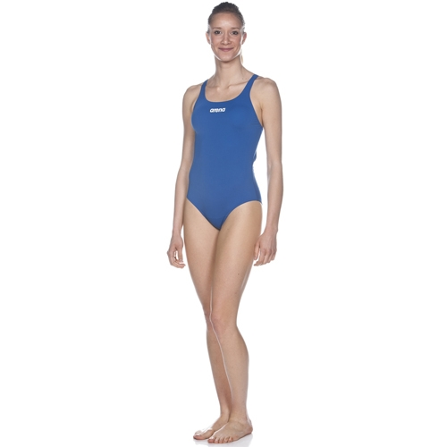 Arena Solid Swim Pro Women's Royal/White