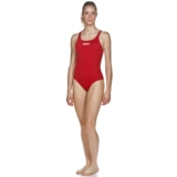 Arena Solid Swim Pro Women Red/White