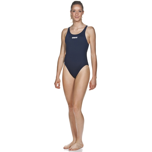 Arena Solid Swim Tech High Women's Navy/White