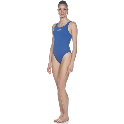 Arena Solid Swim Tech High Women's Royal/White