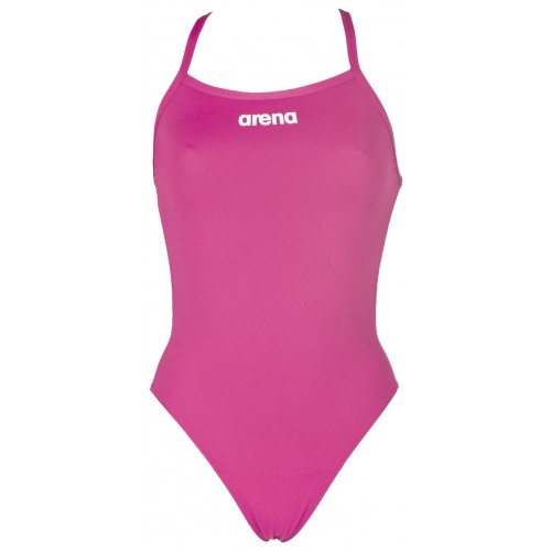 Arena Solid Swim Tech High Women Fresia Rose/White - Arena Style # 2A241-91 C20