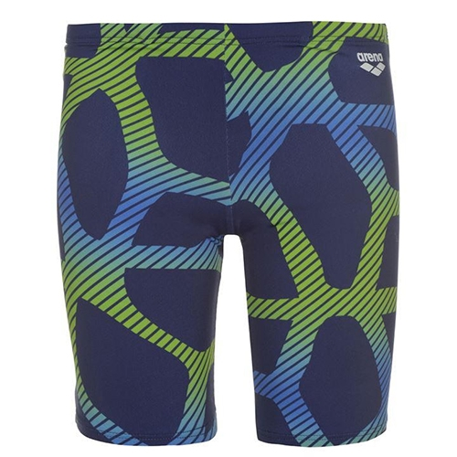 Arena Spider Jammer Men's Navy/Leaf