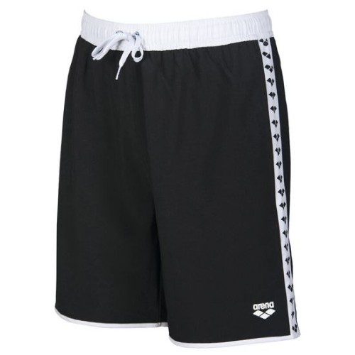 Arena Team Stripe Bermuda Men's Black/White/Black