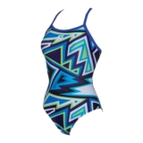 Arena Tulum One Piece Women's Danube Blue/Multi
