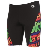 Arena Unbelievable Jammer Men's Black/Leaf
