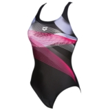 Arena Viborg Women's Black/Fresia Rose