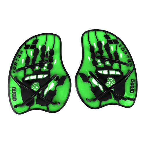 Arena Vortex Evolution Paddles Acid Lime/Black