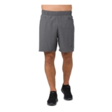 "Asics 2-N-1 7"" Short Men's Dark Grey Heather"