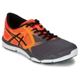 Asics 33-DFA Men's Carbon/Black/Orange