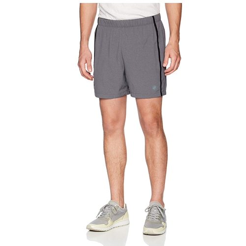 "Asics 5"" Short Men's Dark Grey Heather"