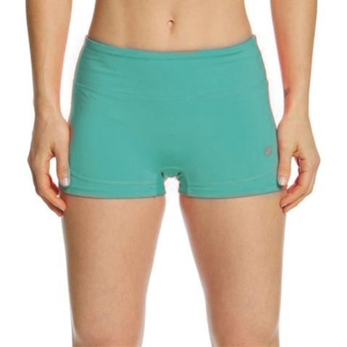 Asics Booty Short Women's Lake Blue/Opal Green