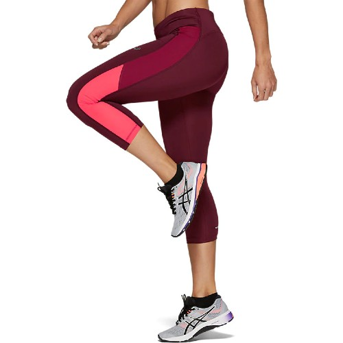 Asics Capri Tight Women's Deep Mars/Chili Flake