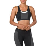 Asics Colour Block Bra Women's Performance Black