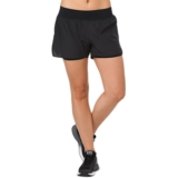 "Asics Cool 2-In-1 3.5"" Short Women's Performance Black"