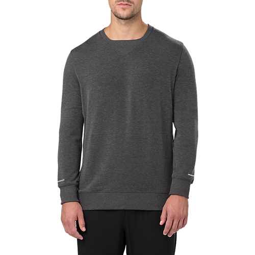 Asics Crew Top Men's Dark Grey Heather