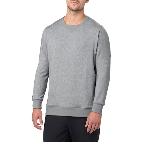 Asics Crew Top Men's Stone Grey Heather